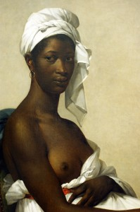 Marie-Guilhelmine Benoist, Portrait of a Black Woman, 1800. Oil on Canvas. Paris, Louvre Department of Paintings, inv. 2508.