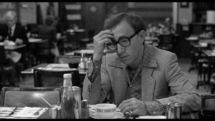 Woody Allen as Danny Rose in Broadway Danny Rose (1984), film still.