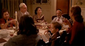 Seder scene from Crimes and Misdemeanors (1989), film still.