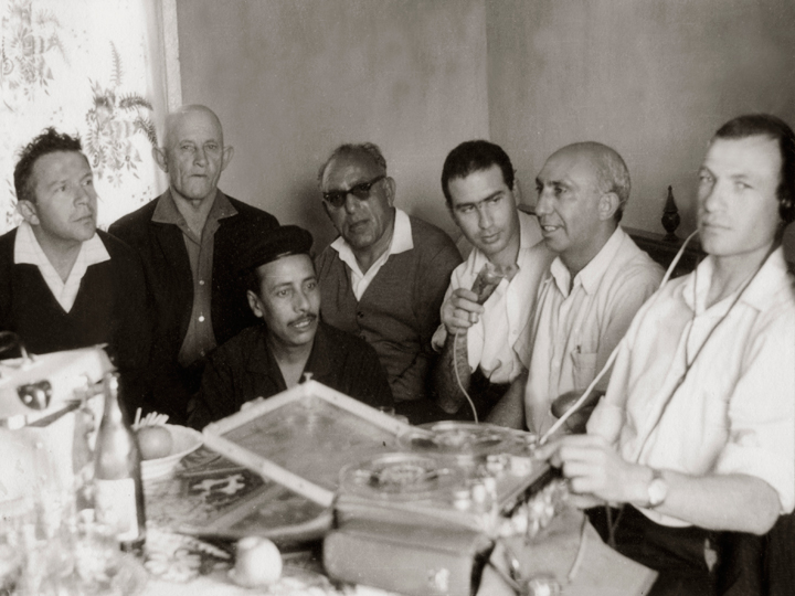 Kol Israel recording. Courtesy of the Israel Folktale Archives named in honor of Dov Noy (IFA) at the University of Haifa.