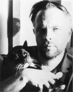 Photograph of Philip K. Dick with Cat by Anne Dick. Copyright © by Anne Dick, used by permission of The Wylie Agency LLC.
