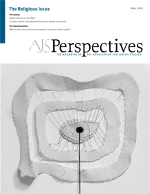 AJS Perspectives Fall 2011: The Religious Issue Cover