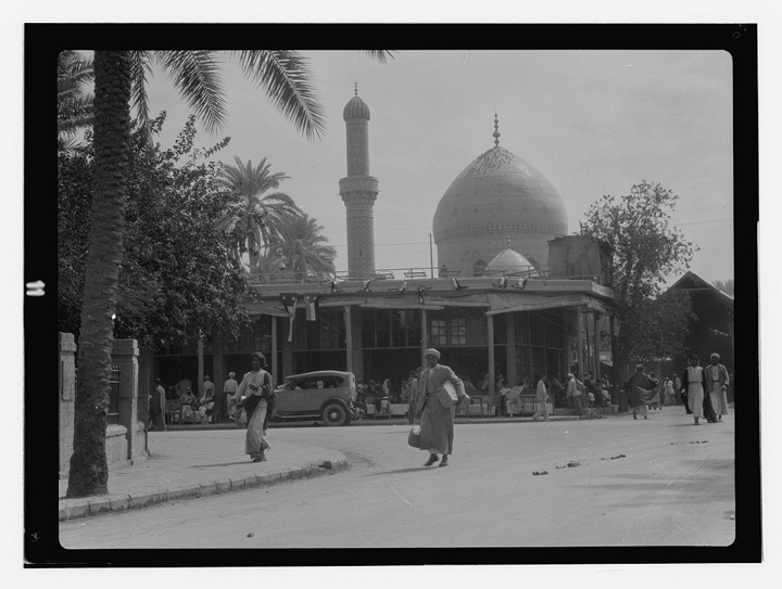 Rashid Street, Baghdad, Iraq,1932. Library of Congress, Prints and Photographs Division, LC-DIG-matpc-13252.