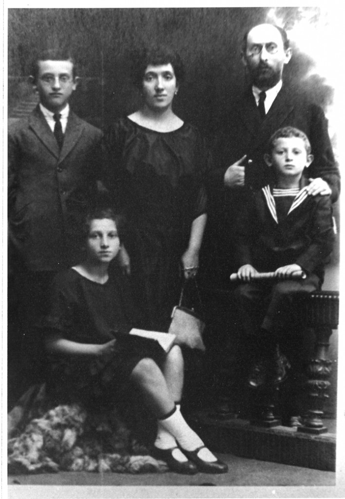 The author's grandparents and their children, Poland, circa early 1900s. Photo courtesy of the author.