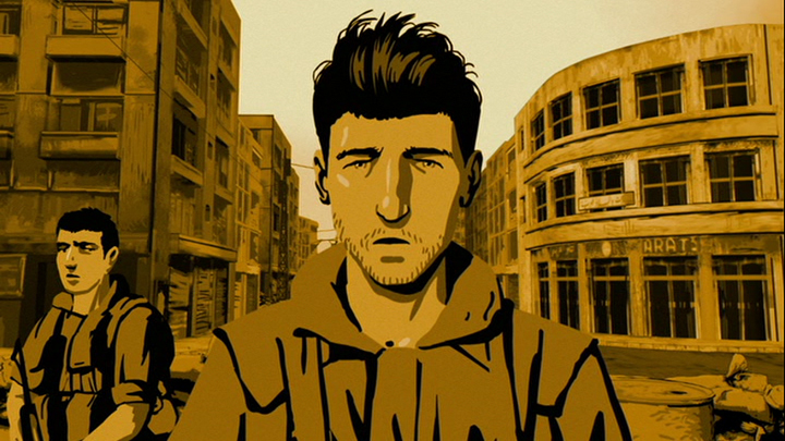 Film stills from Waltz with Bashir. Credit: Ari Folman and David Polonsky/Sony Pictures Classics.
