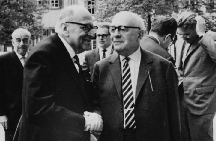 Max Horkheimer, Theodor Adorno, and Jürgen Habermas