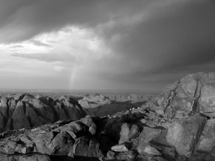 Mount Sinai, 2006, by Wikimedia Commons user Cirodite.