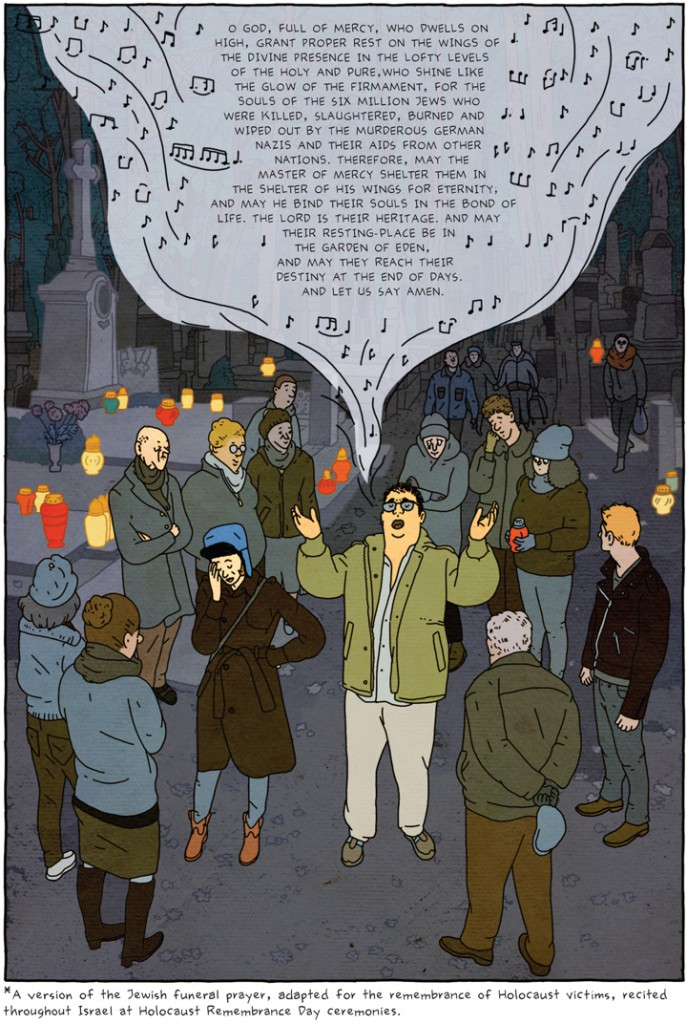 Reproduced from The Property by Rutu Modan (Drawn and Quarterly, 2013), 203. Courtesy of the publisher.