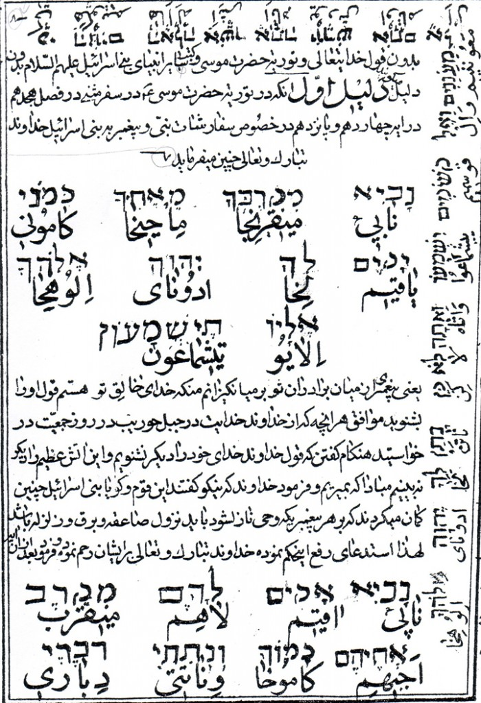 Manqul al-Ridai [The Sayings Transmitted by Ridai], or Iqamat  al-Shuhud fi Radd al-Yahud [Erecting the Evidence in Refuting the  Jews] (n.p, 1292/1875–76), an early nineteenth-century Shi'ite  polemic against Judaism, composed by a former Jew, Muhammad Ridai Jadid al-Islam.